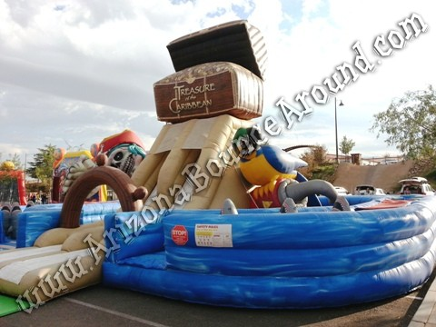 Rent Pirate themed inflatables in Phoenix